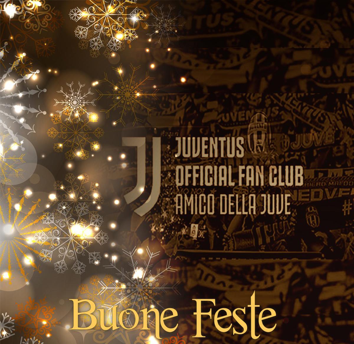 Auguri Di Buon Natale Juve.Buone Feste Juventus Official Fan Club Amico Della Juve