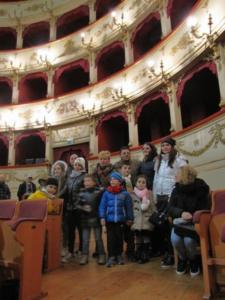 Visita con i nostri ospiti di Ussita al teatro Rossini