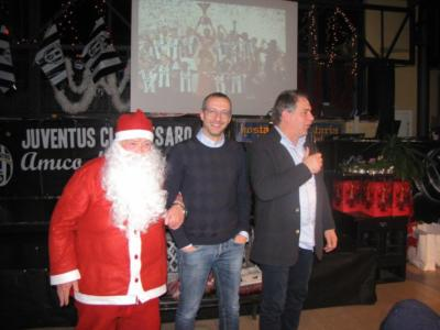 Il sindaco Ricci e il nostro Babbo Natale